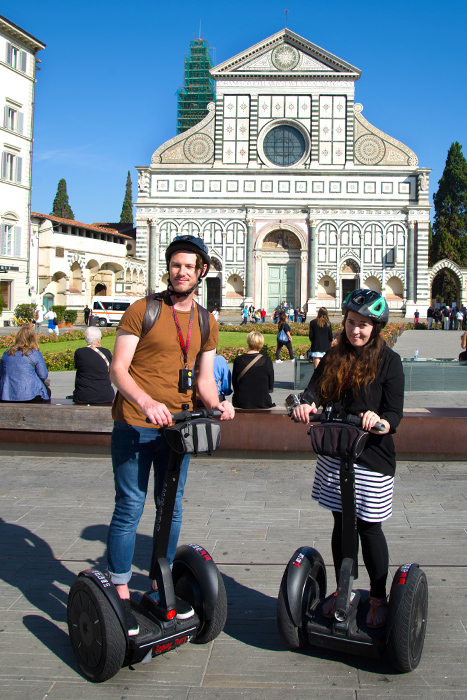 couple on segways