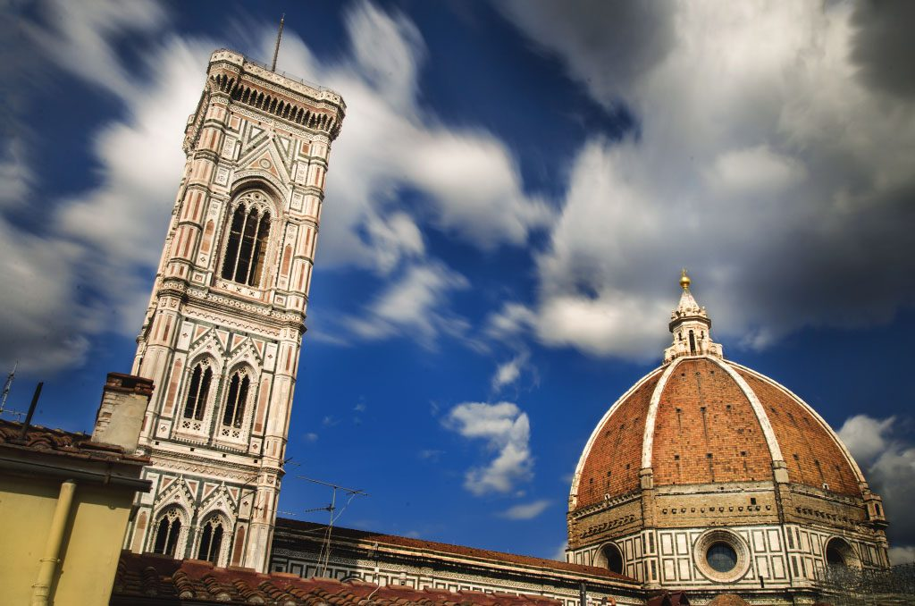 where to stay in florence, 4 star hotel in florence, brunelleschi florence, hotel with view of duomo