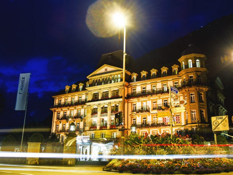 Best Hotel in Interlaken Linder Grand Hotel Beau Rivage