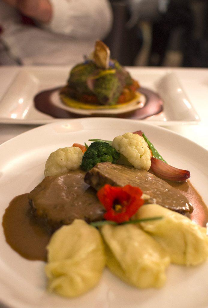 fine dining zurich, seasonal dining zurich, swiss meatloaf