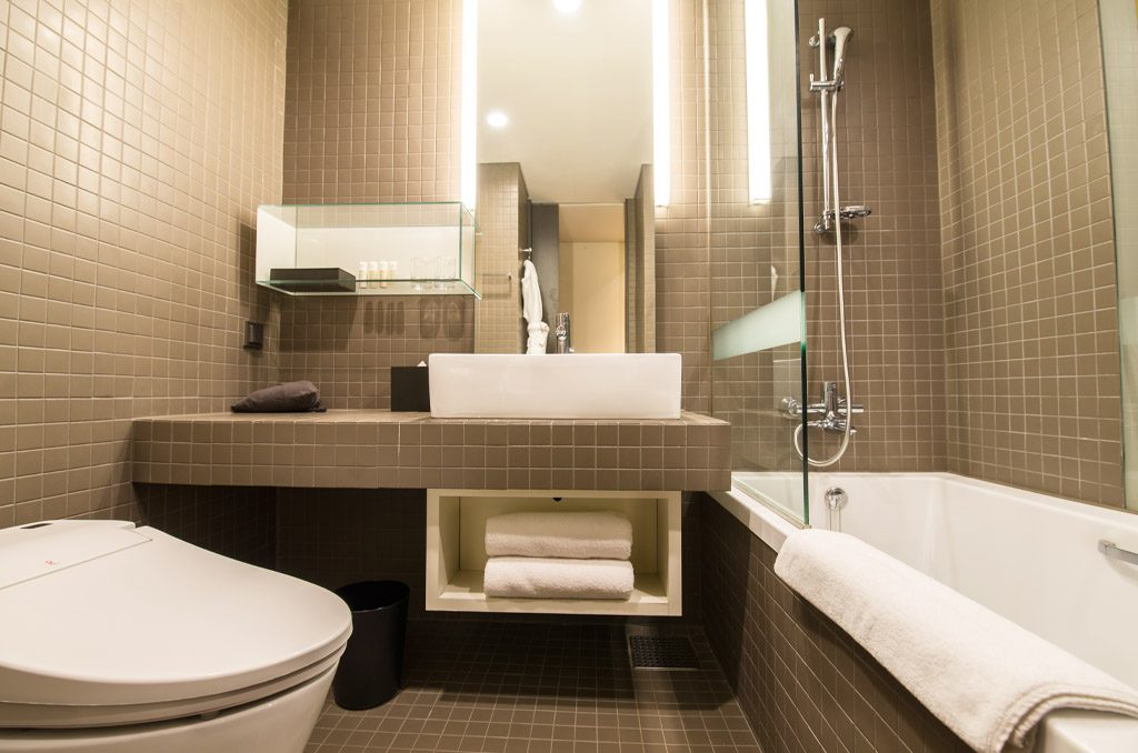 Seoul hotel bathroom, best hotel in seoul, luxury hotel in seoul