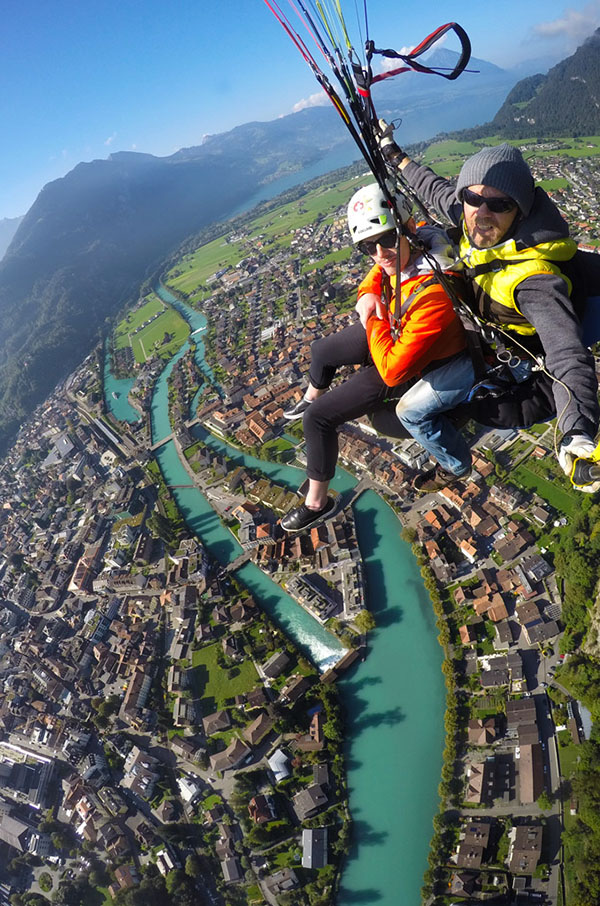 paragliding interlaken switzerland