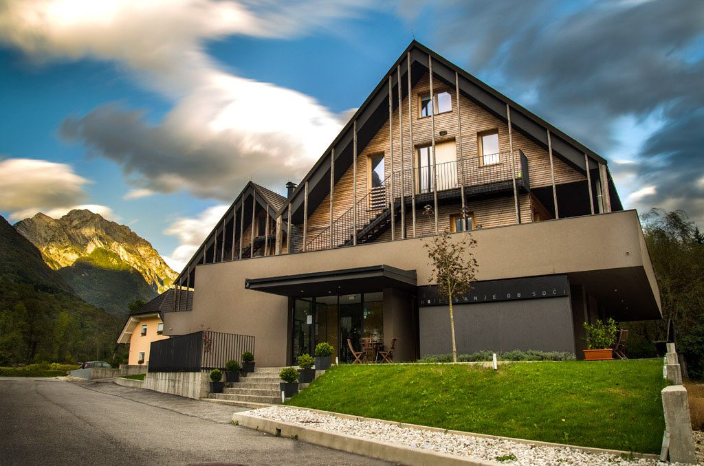 where to stay in bovec, hotel sanje ob soci