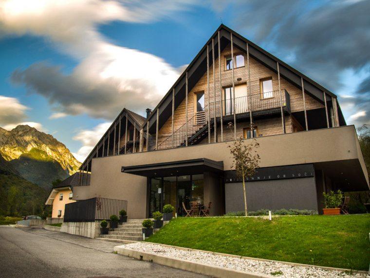 where to stay in bovec, hotel sanje ob soci