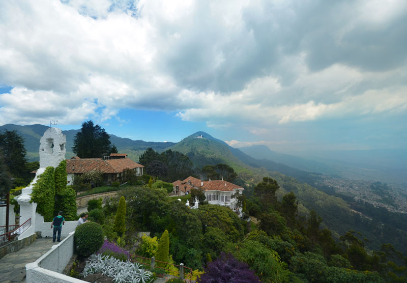 See Bogota From Above: Mount Monserrate